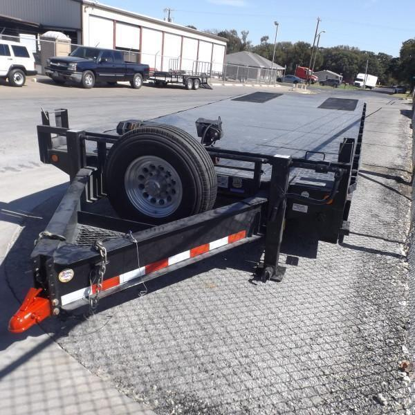 "Rental 59 - Load Trail 21' x 96"" Tilt Equipment Trailer"