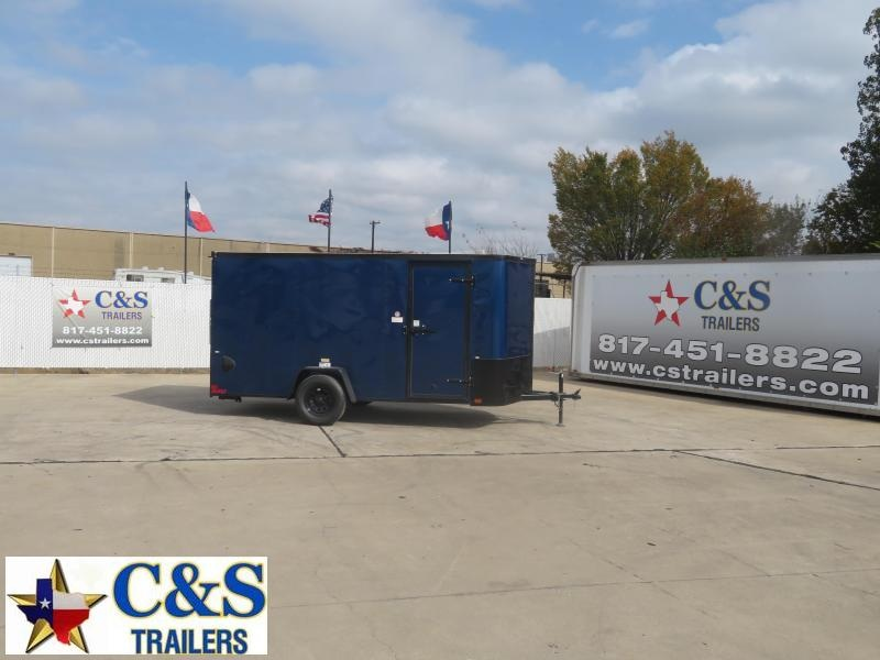 2021 Cargo Craft 6 X 14 Enclosed Cargo Trailer
