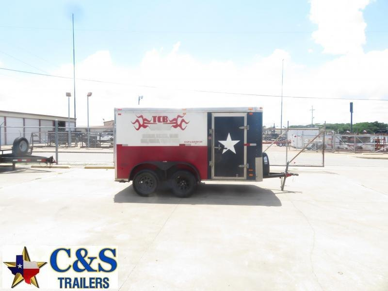 Rental 42 - North American 6' x 12' Enclosed T/A Cargo Trailer