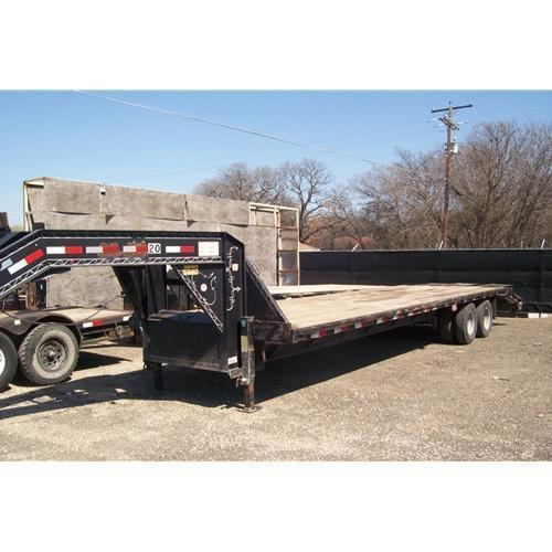 "Rental 20 - Load Trail 96"" x 33'+5' Trailer"