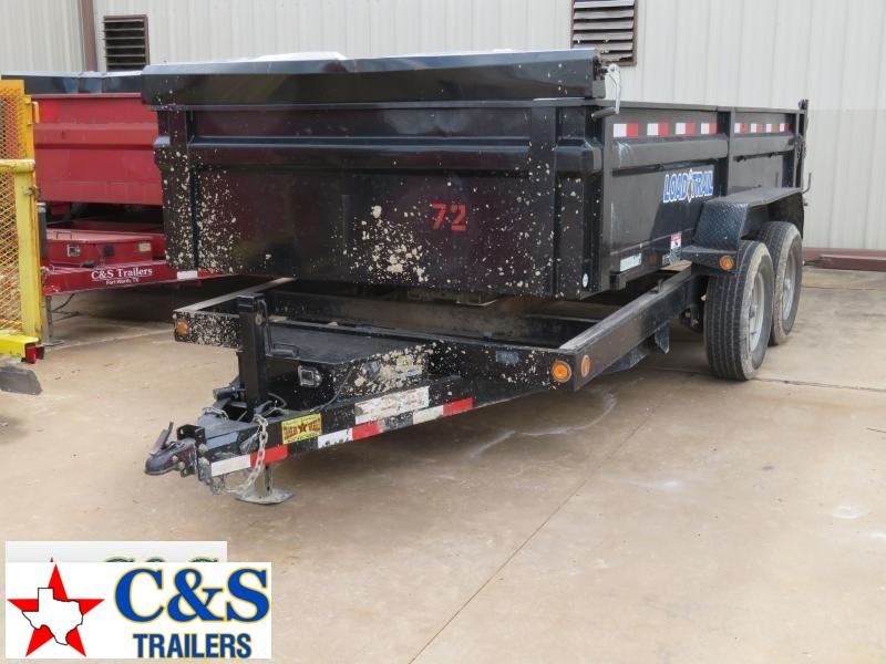 Rental 72 - 2015 Load Trail 83 x 14 Dump Dump Trailer