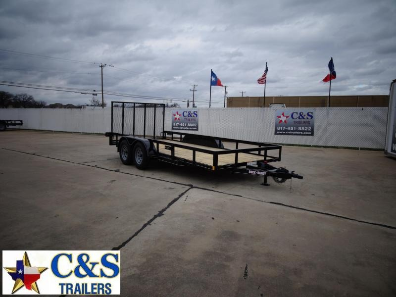 2021 Buck Dandy 77 x 16 Utility Trailer