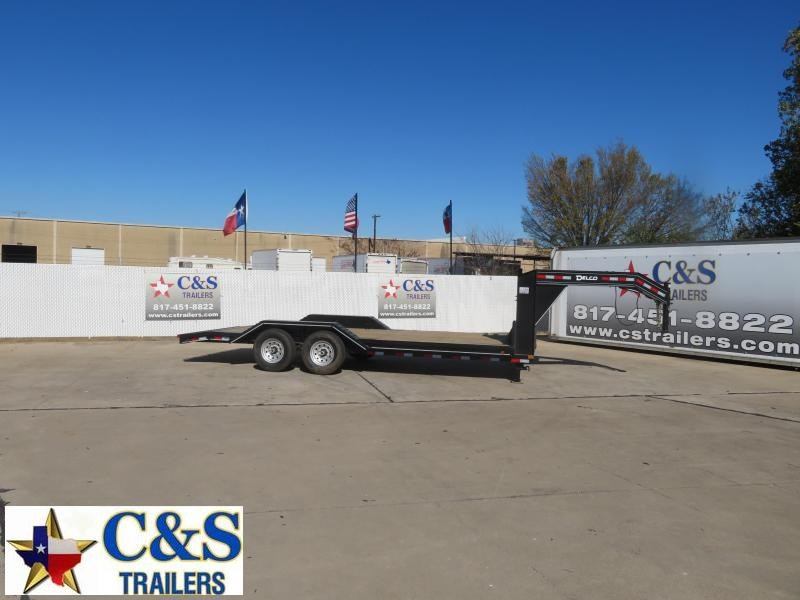 2021 Delco Trailers 102 X 20 Equipment Trailer