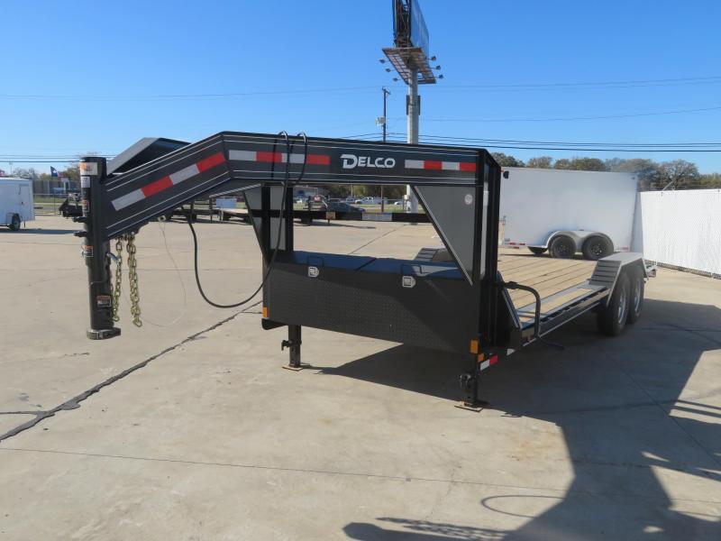 2021 Delco Trailers 102 X 20 Equipment Trailer