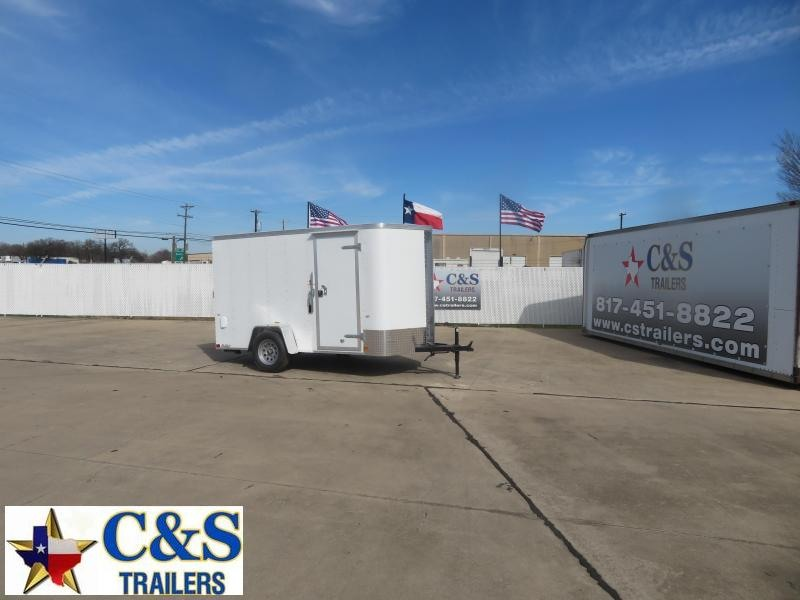 2021 Cargo Craft 6 x 12 Enclosed Cargo Trailer