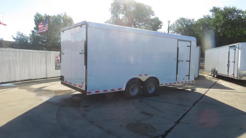 RENTAL 17 - 2020 Cargo Craft 8.5 x 20 Enclosed Cargo Trailer