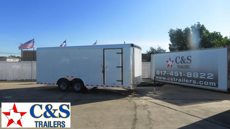 RENTAL 17 - 2020 Cargo Craft 8.5 x 20 Enclosed Cargo Trailer