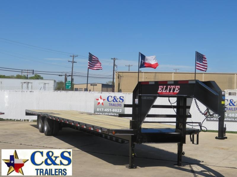 2020 Elite Trailers 102 x 40 Flatbed Trailer