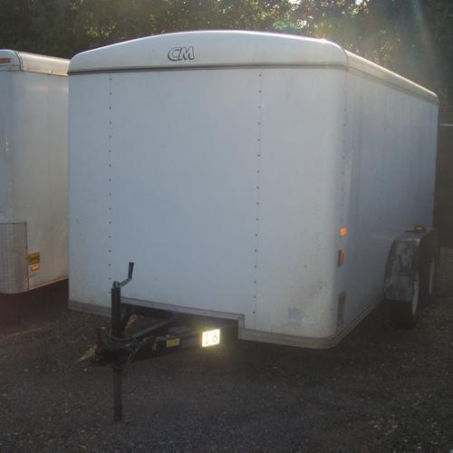 - CM 7' x 14' Enclosed Cargo Trailer