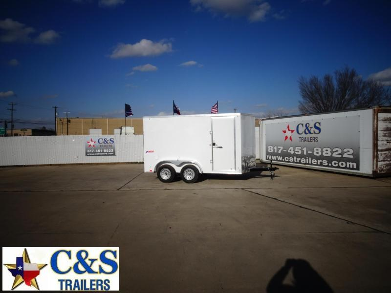 2021 Pace American 7 x 12 Enclosed Cargo Trailer