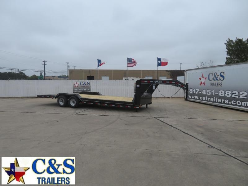 2021 Delco Trailers 102 X 24 Equipment Trailer