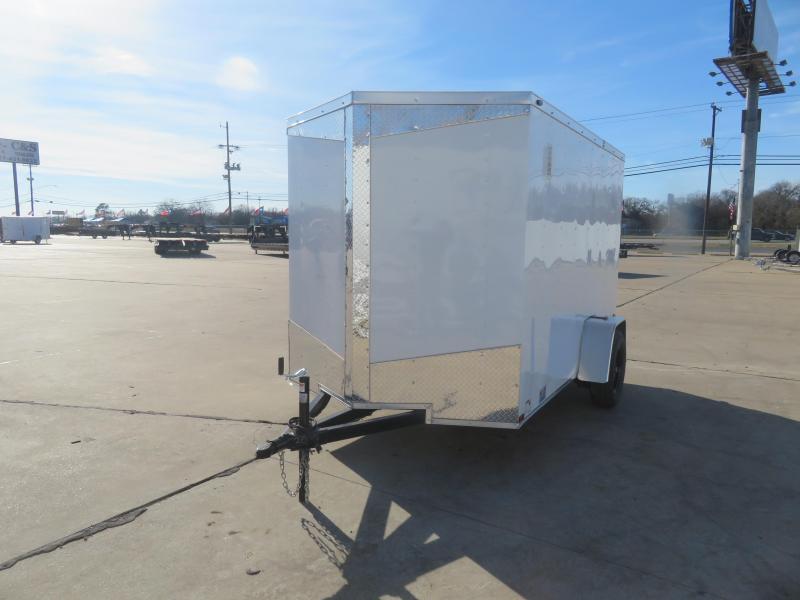 2021 Prime Trailer Manufacturing 6 X 10 Enclosed Cargo Trailer