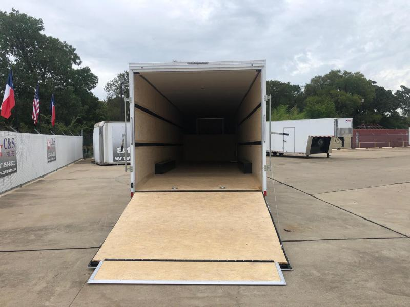 2021 Pace American 8.5 X 40 Enclosed Cargo Trailer