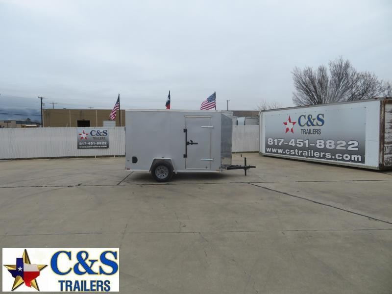 2021 Prime Trailer Manufacturing 6 x 10 Enclosed Cargo Trailer