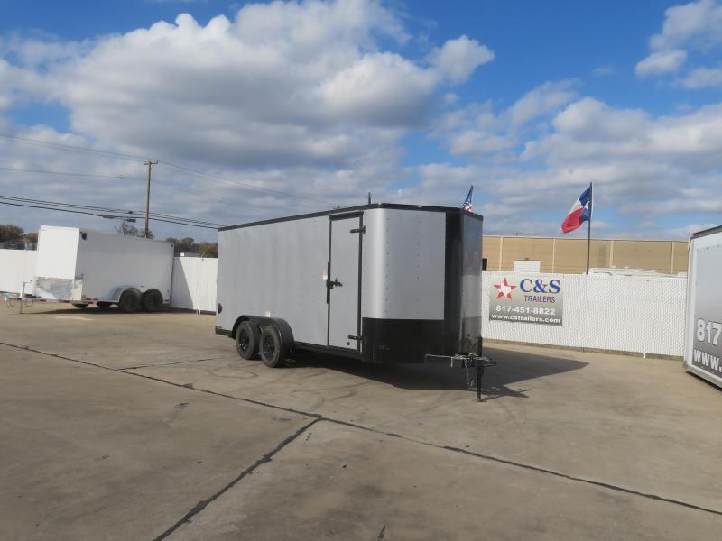 2021 Cargo Craft 7 X 18 Enclosed Cargo Trailer