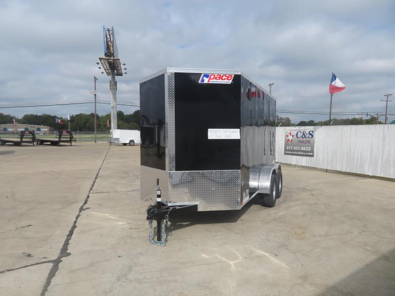 2021 Pace American 6 x 12 Enclosed Cargo Trailer