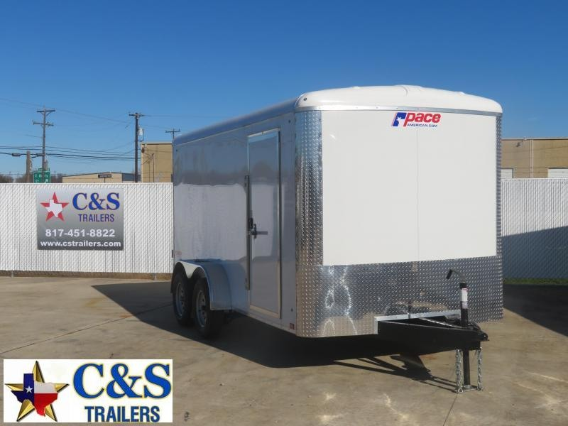 RENTAL 16 - 2020 Pace American 7 x 14 Enclosed Cargo Trailer