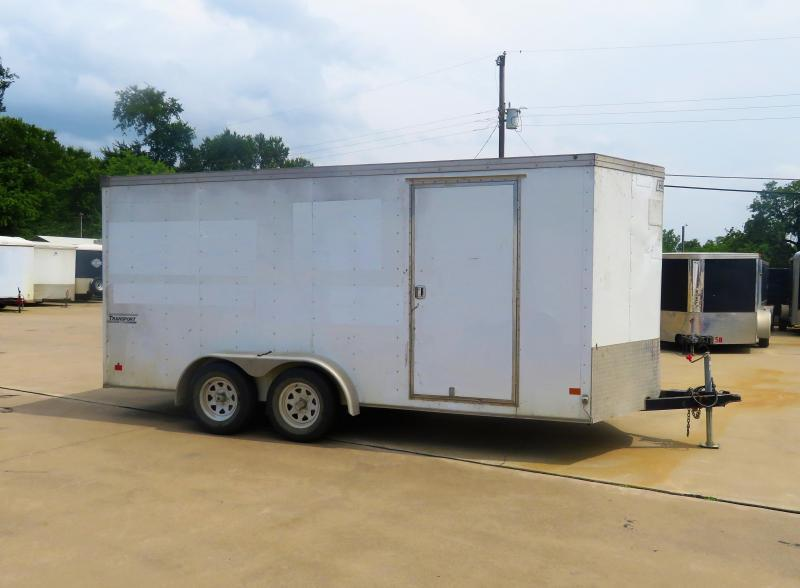 Rental 75 - Haulmark 7' x 16' Enclosed Cargo Trailer