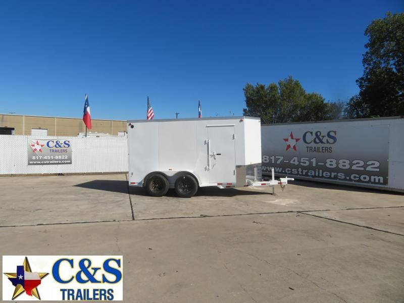 2021 Delco Trailers 6 x 12 Enclosed Cargo Trailer