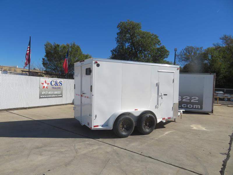 2021 Delco Trailers 6 x 12 Enclosed Cargo Trailer