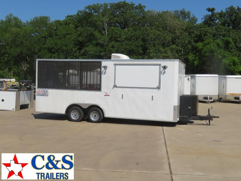 2018 Cross Trailers Concession Vending / Concession Trailer