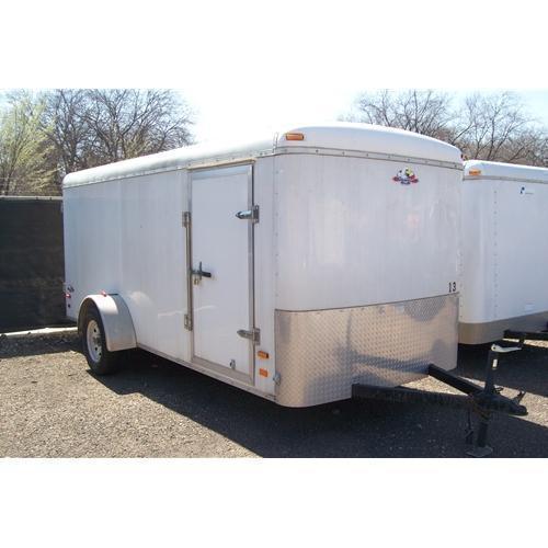 Rental 13 - NAC 14' Enclosed Cargo Trailer