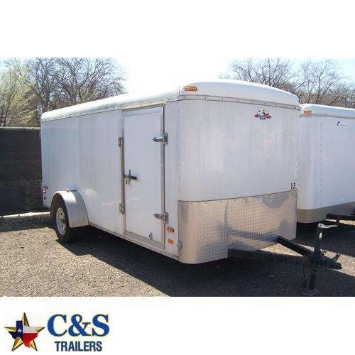 Rental 13 - NAC 14' Enclosed Cargo Trailer