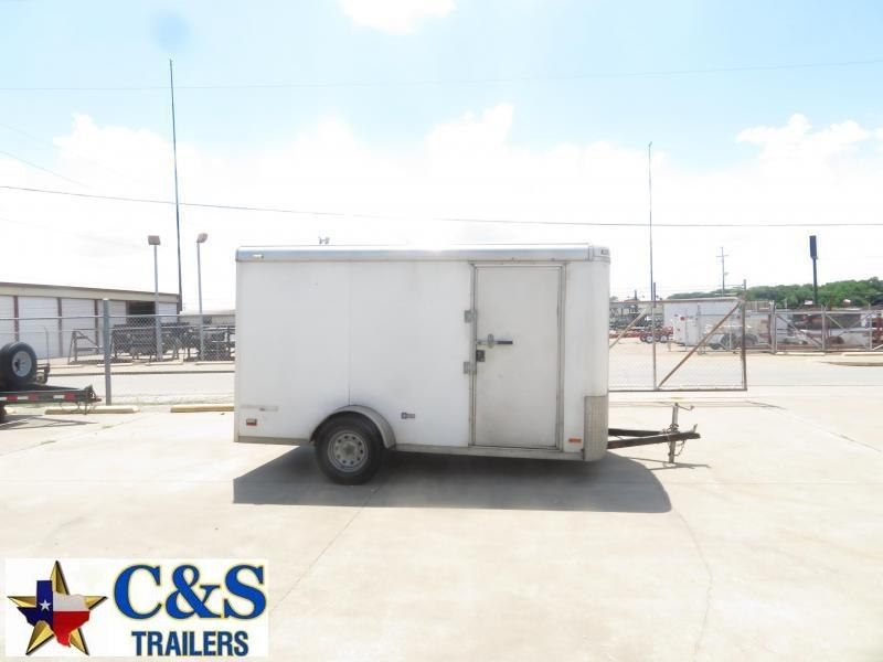 Rental 45 - Pace American 6 x 12' Enclosed S/A Cargo Trailer