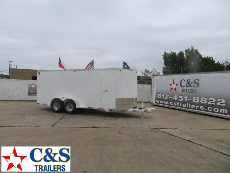 2021 Delco Trailers 80 x 18 Enclosed Cargo Trailer