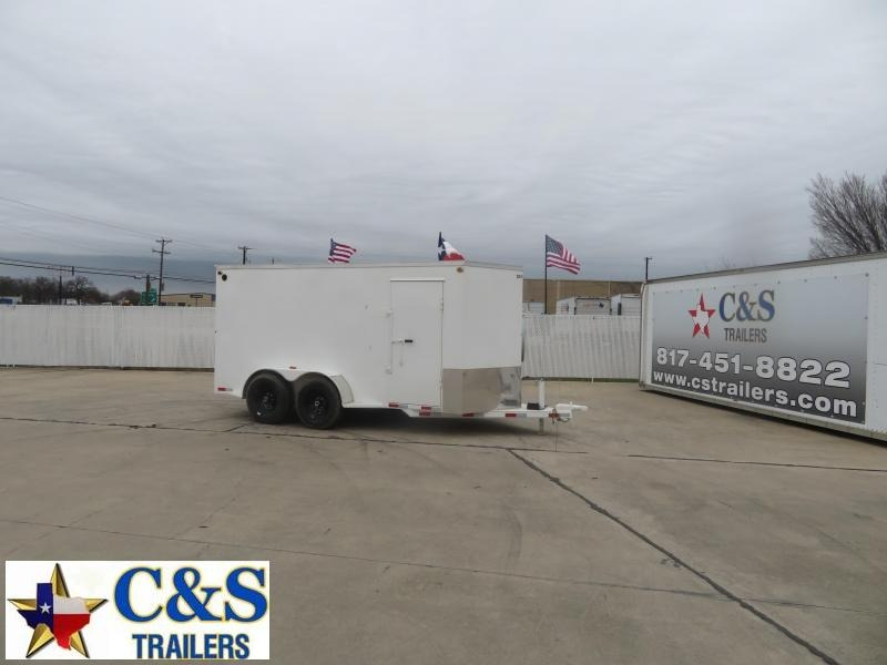 2021 Delco Trailers 7 X 14 Enclosed Cargo Trailer