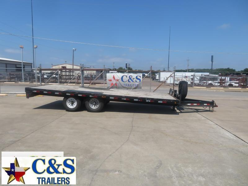 Rental 64 - 2012 PJ Trailers 20x91 Deckover Flatbed Trailer