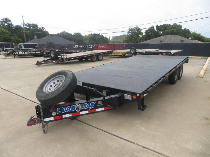 Rental 9 Load Trail Load Max 8.5' x 18' Equipment Trailer
