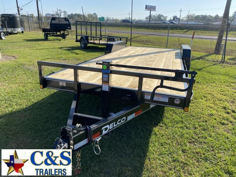 2021 Delco Trailers 83 X 22 Equipment Trailer