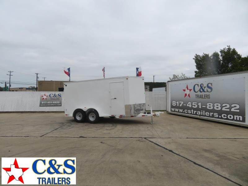 2021 Delco Trailers 80 x 16 Enclosed Cargo Trailer
