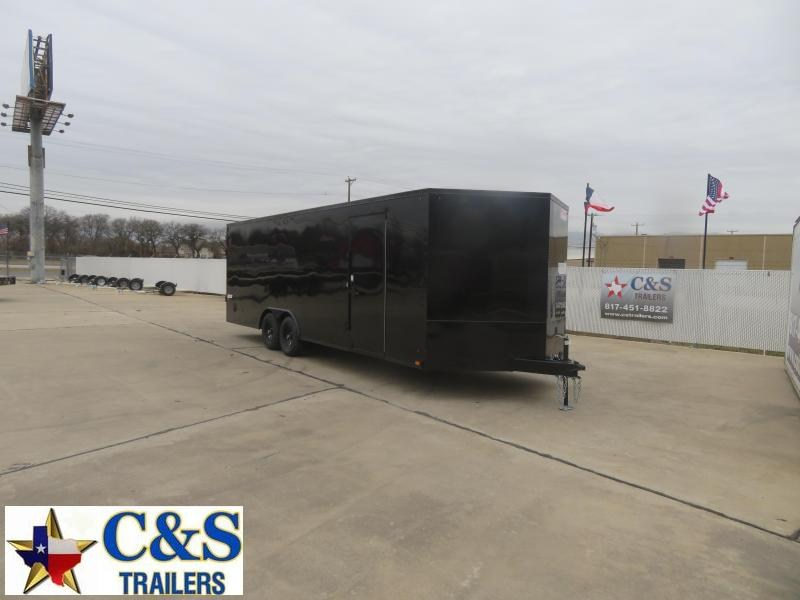 2021 Pace American 8.5 X 24 Enclosed Cargo Trailer