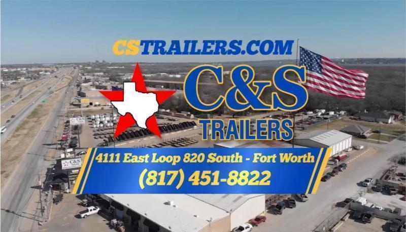 Rental 43 - 2019 C&S 77 x 18 Utility Trailer