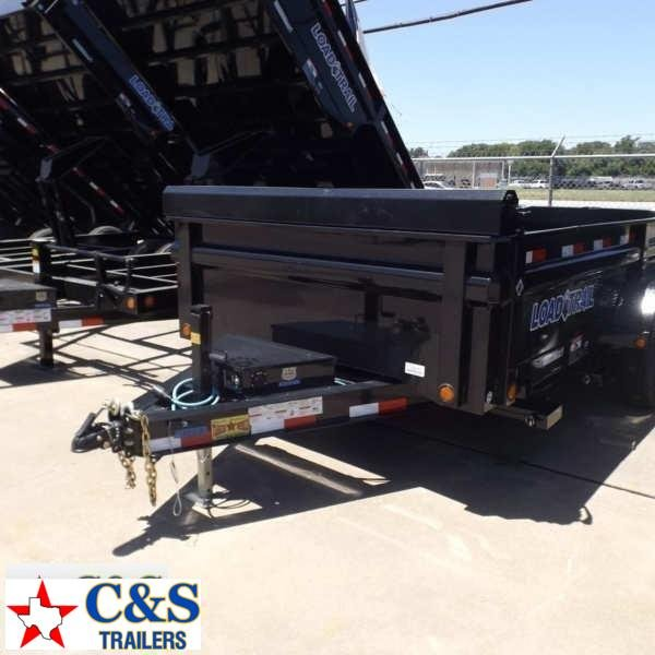 "Rental 67 - 2016 Load Trail 83"" X 14"" Dump Dump Trailer"