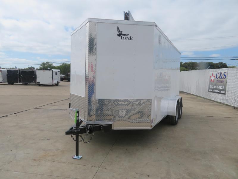 2021 Lark 7 X 14 Enclosed Cargo Trailer