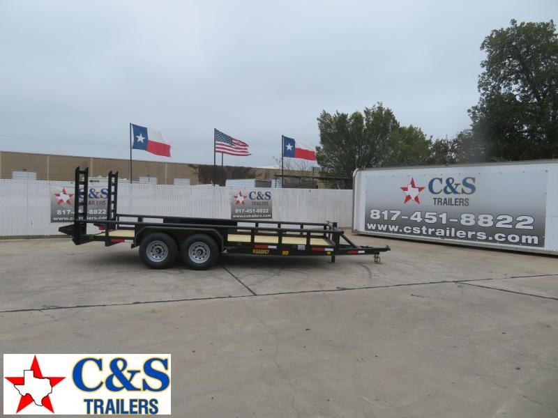 2020 Kearney 82 X 18 Equipment Trailer