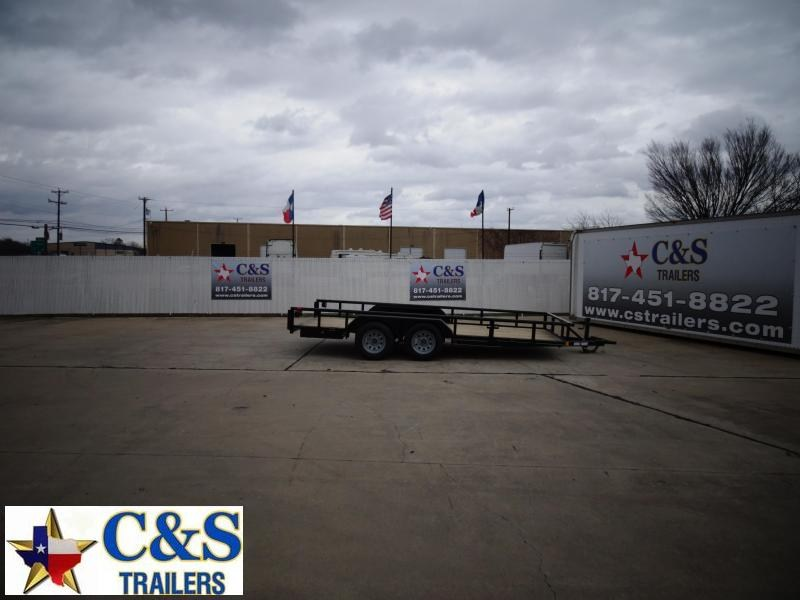 2021 Buck Dandy 83 x 16 Utility Trailer