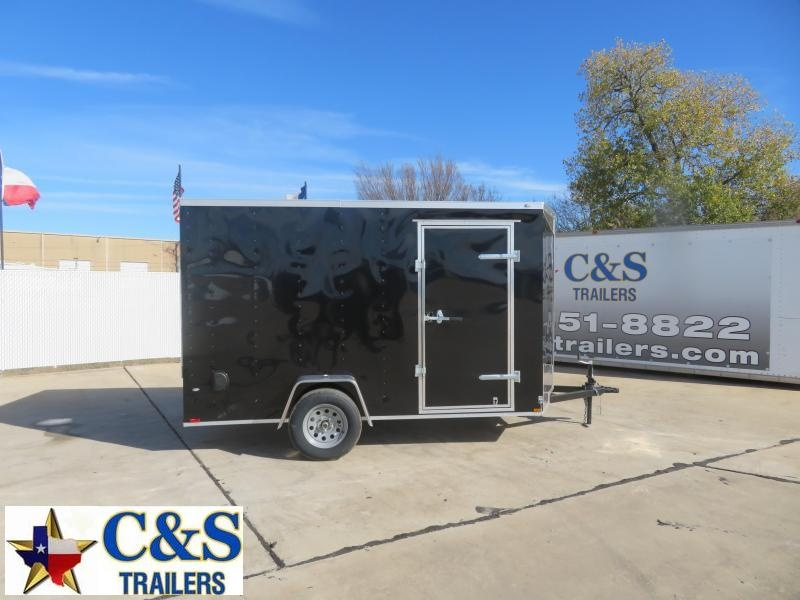 2020 Prime Trailer Manufacturing 6 x 12 Enclosed Cargo Trailer
