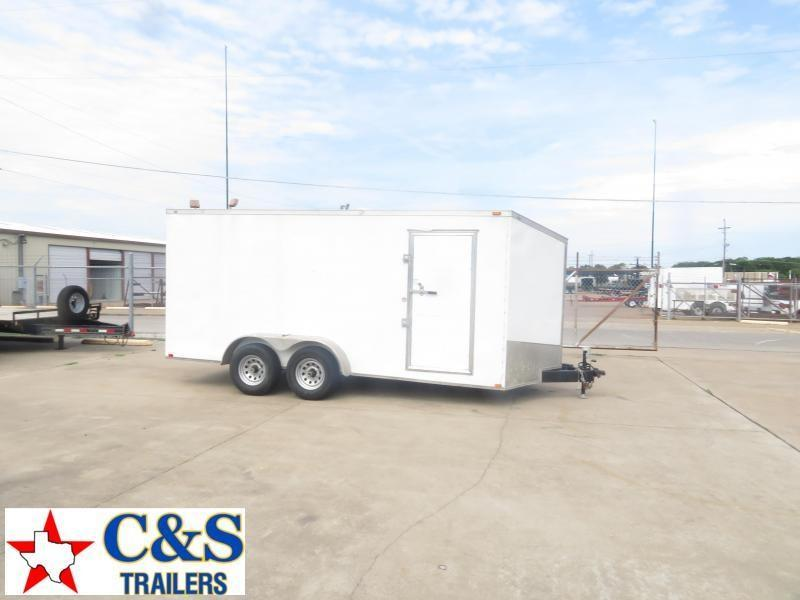 Rental 83 - 2017 Spartan 7 x 16 Enclosed Cargo Trailer