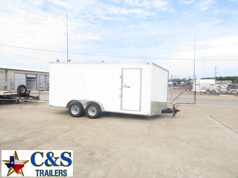 Rental 83 - 2017 Spartan 7 x 16 Enclosed T/A Cargo Trailer