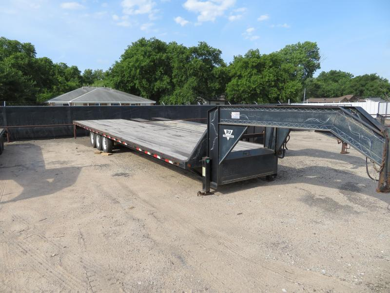 "Rental 40 -  1999 PJ  Triple axle 96"" x 36' Straight Deck Trailer"
