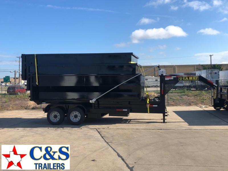 2019 U.S. Built 7 x 16 Roll Off Dump Trailer