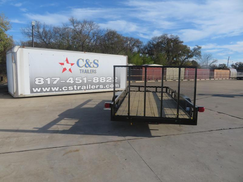 2021 Buck Dandy 83 x 18 Utility Trailer