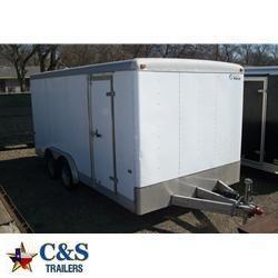 Rental 33 - Wells Cargo 18' Enclosed Cargo Trailer