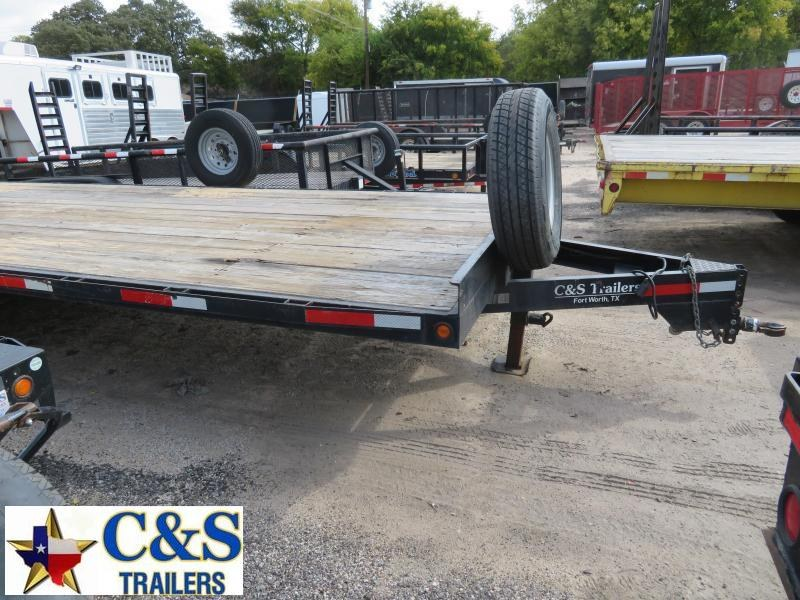 Rental 74 - 2015 C&S 24' Deckover Flatbed Trailer