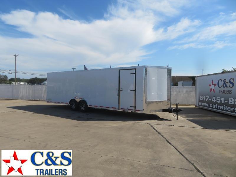 2020 Cargo Craft 8.5 x 30 Enclosed Cargo Trailer