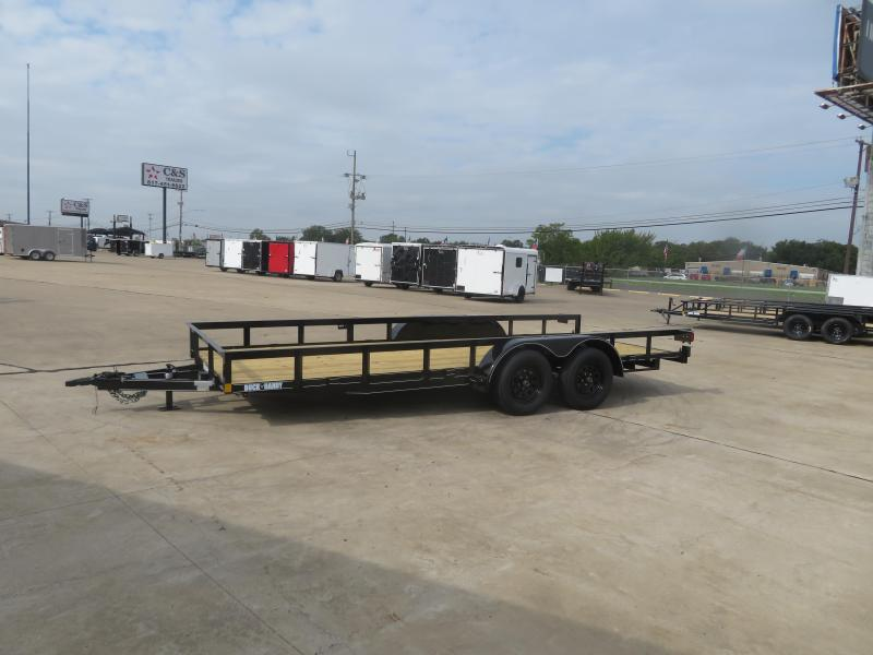 2020 Buck Dandy 77 x 18 Utility Trailer
